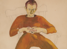 (detail) Alice Neel, Kenneth Doolittle, 1931 ((Hirshhorn Museum and Sculpture Ga