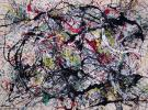Jackson Pollock, Number 34, 1949 (© The Pollock-Krasner Foundation ARS, NY and D
