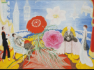 Florine Stettheimer, Family Portrait II, 1933, oil on canvas, 46 1/4 x 64 5/8 in