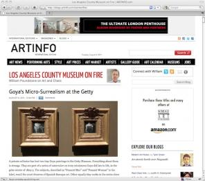 Los Angeles County Museum on Fire Art Blog