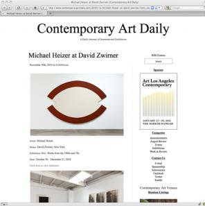 Contemporary Art Daily