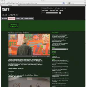 Tate Shots Blog