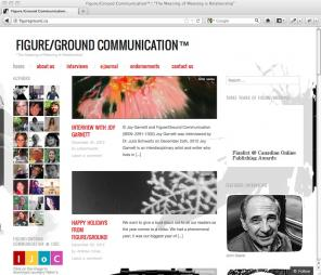 Figure/Ground Communication blog