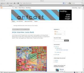 Ahtcast art blog