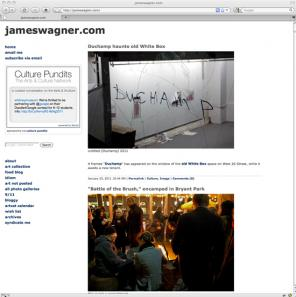 jameswagner.com art blog