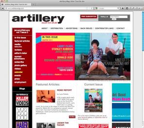 Artillery Magazine