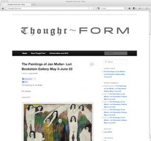 Thought Form art blog