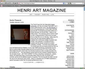 Henri Art Magazine