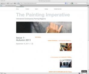 The Painting Imperative blog