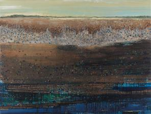 Anne Neely, Mopang, 2010, Oil on linen, 60 x 80 inches (Courtesy of Lohin Geduld