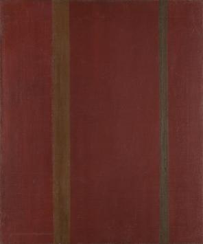 Barnett Newman, Galaxy, 1949, Oil on canvas, 24 x 20 inches, Collection of Lynn
