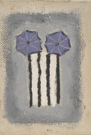 Forrest Bess, Untitled, 1947, oil on canvas (The Menil Collection, Houston, gift