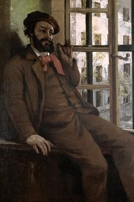Gustave Courbet, Self-Portrait at Sainte-Pelagie, 1871, Musee-Maison Natale Gust