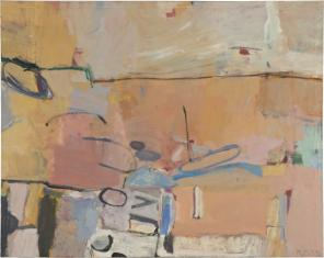 Richard Diebenkorn, Berkeley #3, 1953 (collection of the Fine Arts Museums of Sa