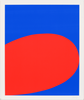 Ellsworth Kelly, Red/Blue (Untitled), from the portfolio Ten Works by Ten Painte