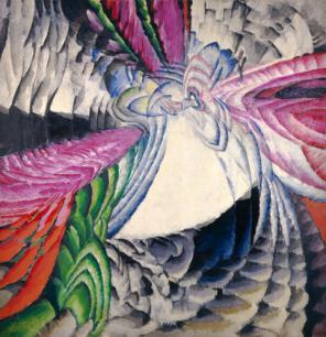 František Kupka, Localization of Graphic Motifs II, 1912–13, oil on canvas, 78 3