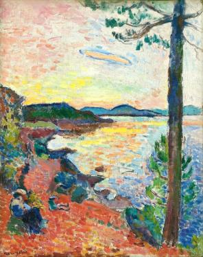 Henri Matisse, The Gulf of Saint-Tropez, 1904, oil on canvas, 25 5/8 x 19 7/8 in