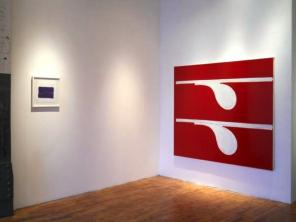 Installation View: Paul Pagk: 18 Drawings and 1 Painting at Studio 10 Gallery, B