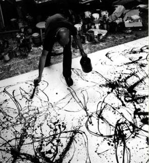 Jackson Pollock, Photograph © 1999 Estate of Hans Namuth