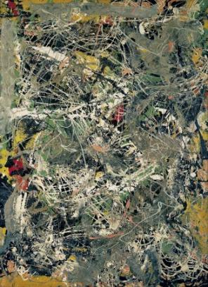 Jackson Pollock, Untitled, ca. 1949 © Fondation Beyeler, Riehen, Basel/Jackson P