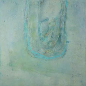 Lisa Pressman, Transcending, 24 x 24 inches, oil on wood, 2012-2013 (courtesy of