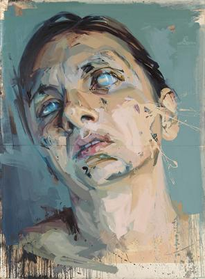 Jenny Saville, Atonement Studies: Central Panel (Rosetta), 2005-06 (c) 2012 Jenn