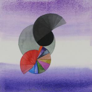 Stephen Mueller, Untitled (NYC, 2011), 2011, watercolor and gouache on paper, 12
