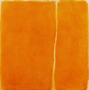 William Turnbull, 4-1963, 1963, 60 x 60, inches, oil on canvas
