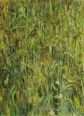 Vincent Van Gogh, Ears of Wheat, 64.5 x 48.5 cm, Van Gogh Museum, Amsterdam