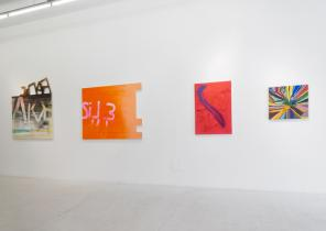 Installation View, Xstraction at The Hole, New York (courtesy of The Hole)