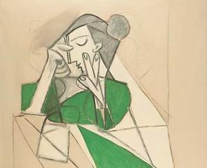 Picasso, Femme etendu lisant