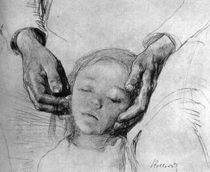 Kathe Kollwitz drawing