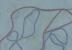 (detail) Brice Marden, Nevis Stele 3, 2007-2015, oil on linen, 60 x 36 inches (c