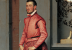 (detail) Giovanni Battista Moroni, Gian Gerolamo Grumelli, c. 1560, oil on canva