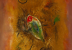 (detail) Wols, Le Poisson (Fish), 1949, Oil on canvas, 28 3/4 × 19 5/8 inches (c