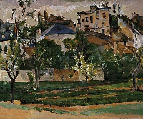 Paul Cézanne, The Garden of Maubuisson, Pontoise, 1877 (collection of Mr. and Mr