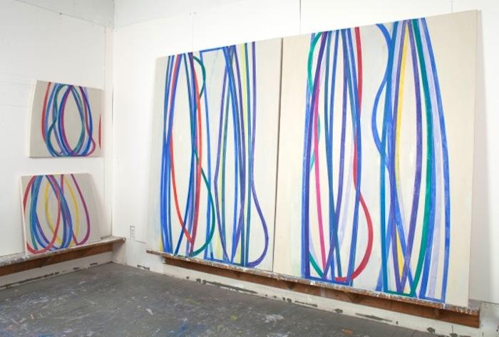 Joanne Freeman, Studio View, 2013 (courtesy of the artist)