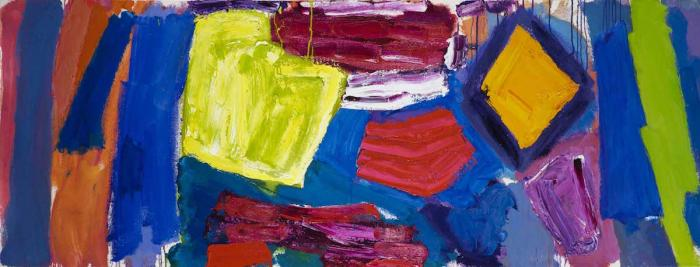 Alan Gouk, Knotgrass Elegy, 2003-11, oil on canvas, 91 x 241 cm (courtesy of the