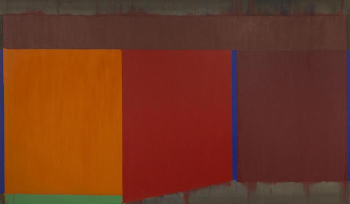 John Hoyland, 9.11.68 (© The John Hoyland Estate)