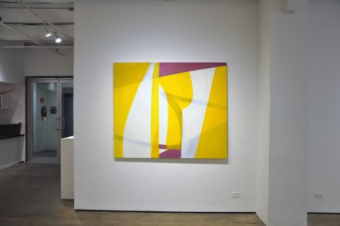 Installation view: (James Erikson) Eight Painters at Kathryn Markel Fine Arts, New York