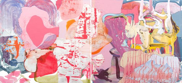 Zachary Keeting, May (2), acrylic on canvas, 50 x 109 inches (courtesy of the ar