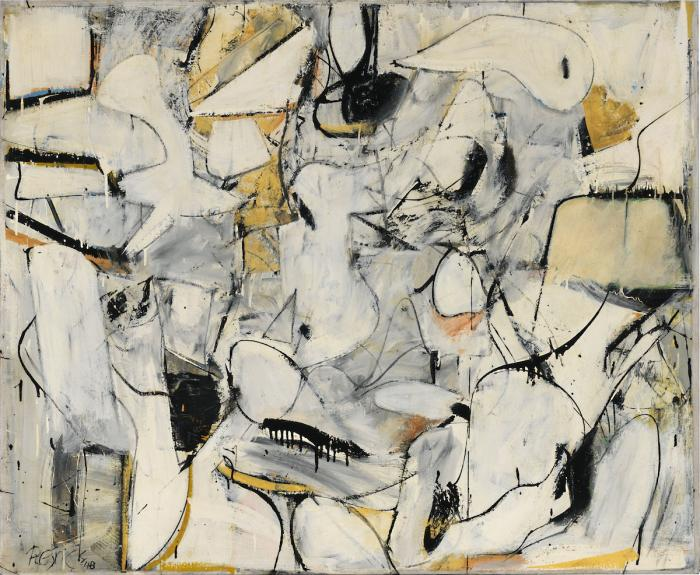 Milton Resnick, Untitled, 1948 (Private Collection)
