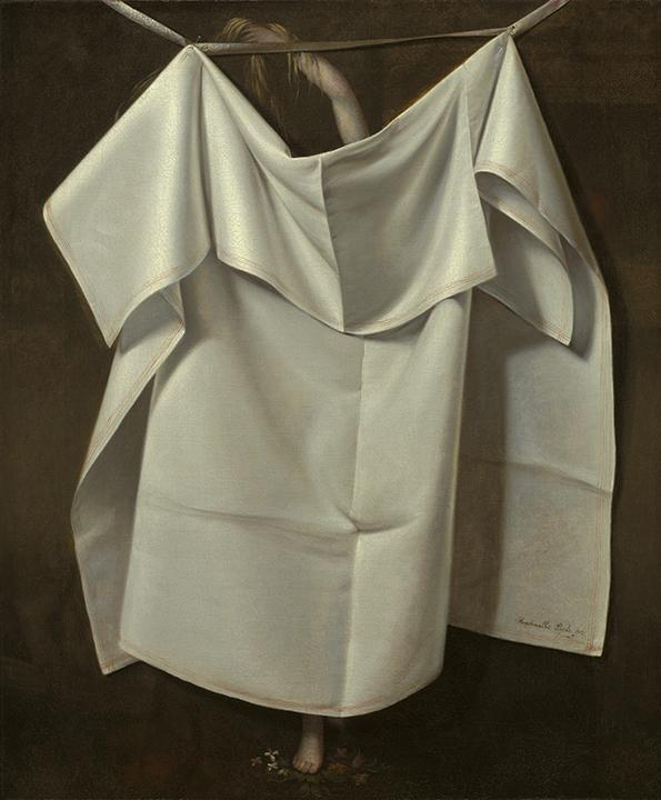 Raphaelle Peale, Venus Rising From the Sea—A Deception, ca. 1822, oil on canvas