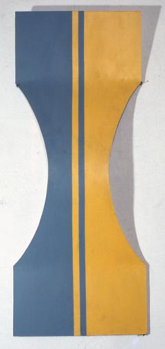 Dana Gordon, untitled, 1967, acrylic on formed masonite, height: 48 inches (courtesy of the artist)