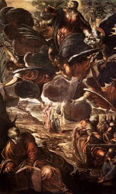 Tintoretto, The Ascension of Christ, c. 1576-1581, oil on canvas, 538 x 325 cm (Scuola Grande di San Rocco)