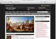 All Art News website