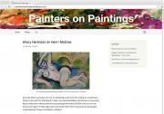Painters on Painting art blog