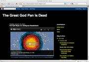 Great God Pan is Dead art blog