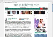 Daniel Maidman, Huffington Post