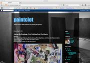 Paintclot art blog